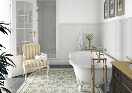 Patterned-Floor-Tiles-Bathroom